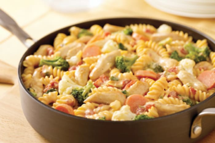 Image result for Rotini with Chicken and Garden Vegetables
