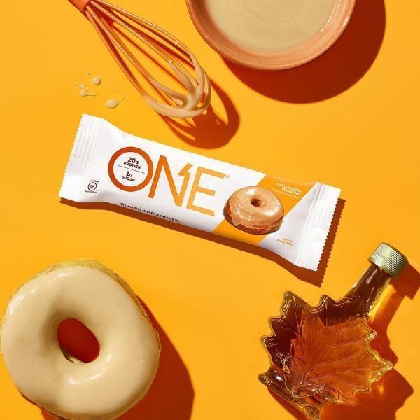 Maple Glazed Doughnuts By One