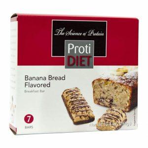 ProtiDiet Breakfast Bar Banana Bread