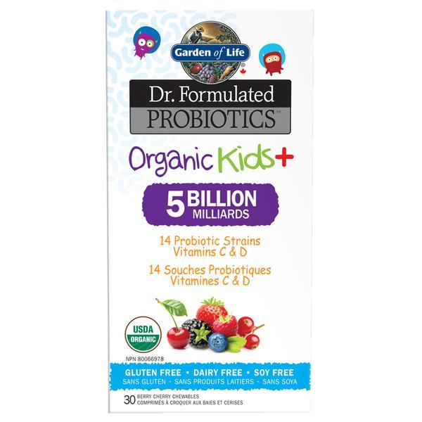 Image result for Garden Of Life – Dr. Formulated Probiotics Organic Kids+